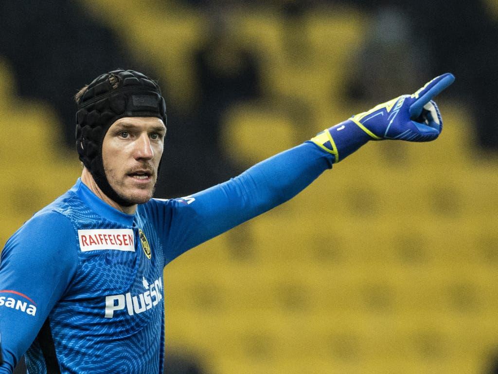 Guillaume Faivre kam schon im ersten Meisterschaftsspiel zu seinem ersten Ernsteinsatz als YB-Goalie