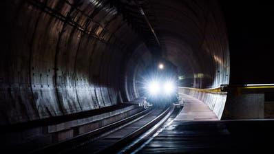 Der Ceneri-Basistunnel in Betrieb. (Symbolbild) (Bild:Alessandro Crinari /Ti-PRESS (Bellinzona, 02. September 2020))