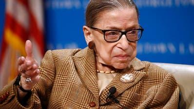 Ruth Bader Ginsburg starb am Freitag im Alter von 87 Jahren. (Archivbild) (Keystone/AP/Patrick Semansky)