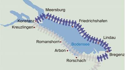 Megaevent wird zur «unrealisierbaren Luftblase»: Coronakritiker sagen Friedenskette am Schweizer Bodenseeufer ab