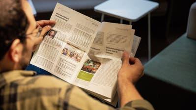 Die Gemeinde Wittenbach lässt ihr Mitteilungsblatt schon bald in Gossau drucken