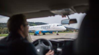 Am Wochenende gibt es keine Flüge zwischen Altenrhein und Wien. (Bild: Benjamin Manser (30. Oktober 2018))