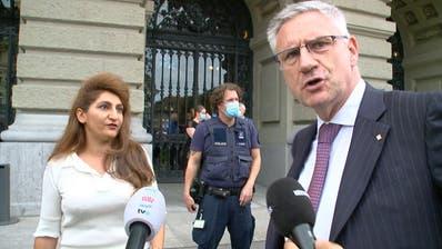 SVP-Glarner beleidigt Grüne Arslan: «Hier herrscht Recht und Ordnung, Frau Arschlan– das gab es in deinem Staat nicht!»