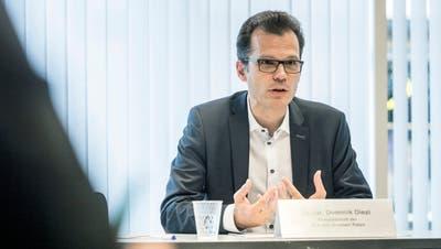 Arbons Stadtpräsident Dominik Diezimacht die Coronasituation für das schlechtere Ergebnis verantwortlich. (Andrea Stalder)