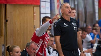«Ich glaube daran, dass wir das schaffen», sagt HCK-Trainer Goran Perkovac. (Boris Bürgisser)