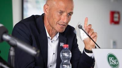 FCSG-Coach Peter Zeidler vor dem Europa League Spiel: «Wir werden unser Spielsystem nicht anpassen, auch wenn AEK Athen ein anderes Kaliber als YB oder Basel ist»