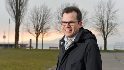 Stadtpräsident Dominik Diezi und der Stadtrat befürworten den jährlichen Beitrag an Thurgau Tourismus. (Donato Caspari)