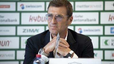 Massimo Carrera, Trainer des AEK Athen und ehemaliger Juventus-Verteidiger. (Gian Ehrenzeller / KEYSTONE)