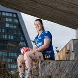Sibylle Scherer, Handballerin beim LK Zug. (Bilder: Eveline Beerkircher (Zug, 23.September 2020))