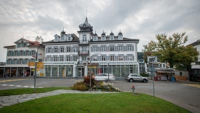 Das ehemalige Hotel Krone in Heiden wird zumMuseum. (David Scarano)
