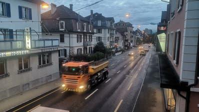 Ein Anwohner will sich vor Bundesgericht für besseren Lärmschutz an der Luzernerstrasse in Kriens einsetzen. (Bild: PD)