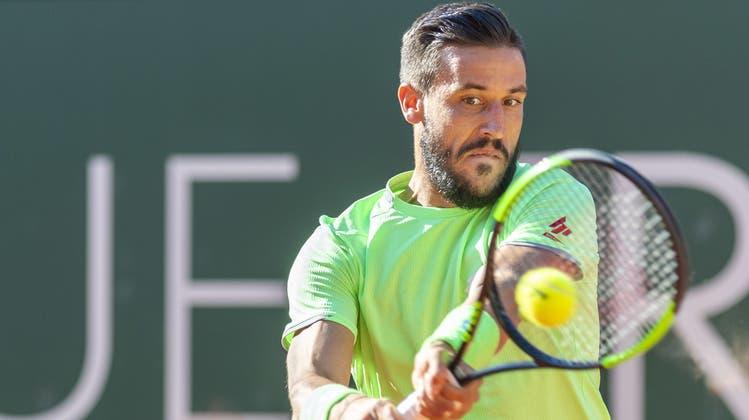 Damir Dzumhur droht den French Open nach seinem Ausschluss mit Klage. (Keystone)