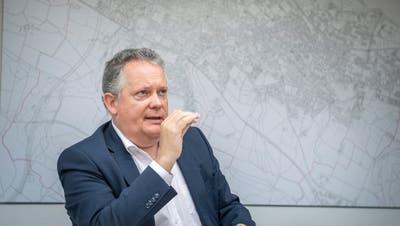 Stadtpräsident Thomas Niederberger. ((Bild: Andrea Stalder))