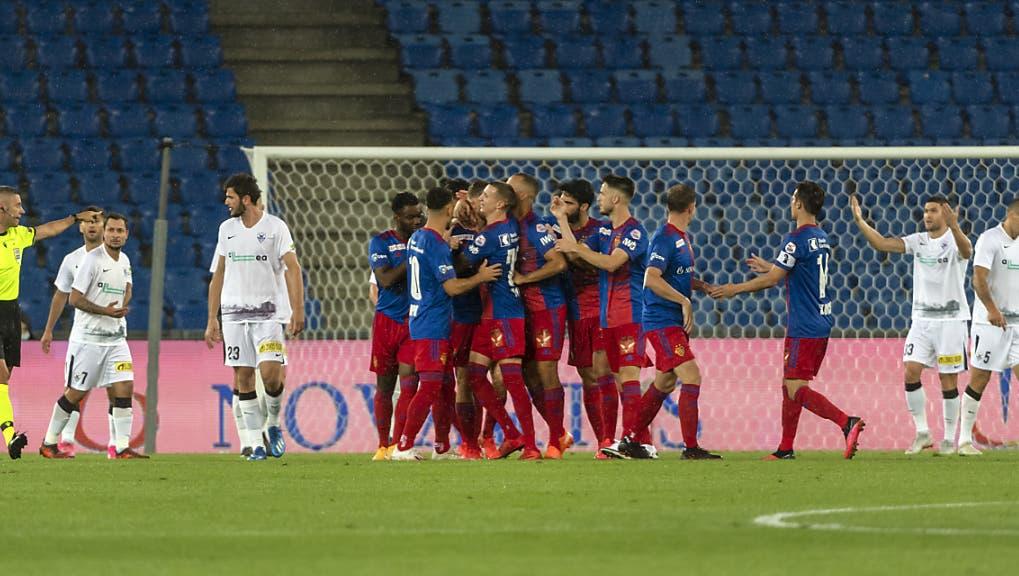 Basel verteidigt klaren Vorsprung knapp und ist eine Runde weiter