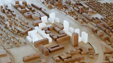 Das Richtkonzept im Stadtmodell. (Bild: PD)