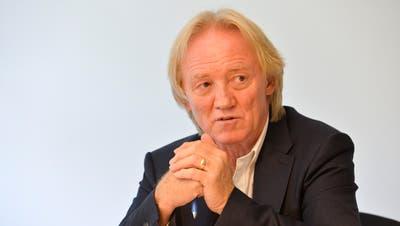 Robert Schwarzer, Kirchenpräsident evangelisch Arbon. (Donato Caspari)