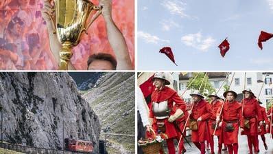 Quiz #27 – Gotthard, Rütli, Fussball: 17 Fragen zu historischen Ereignissen in der Zentralschweiz