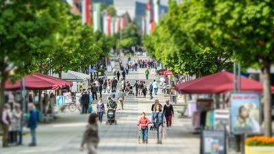 Innerhalb des Kantons St. Gallen gibt es vor allem im Wahlkreis Wil verhältnismässig viele Ansteckungen. (Bild: Urs Bucher)