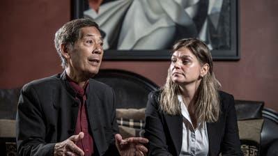 «Weg der Undemokratie»: Sucharit Bhakdi und Karina Reiss kritisieren das Schweizer Massnahmen zur Eindämmung des Coronavirus. (Bild: Pius Amrein (Vitznau, 24. September 2020))