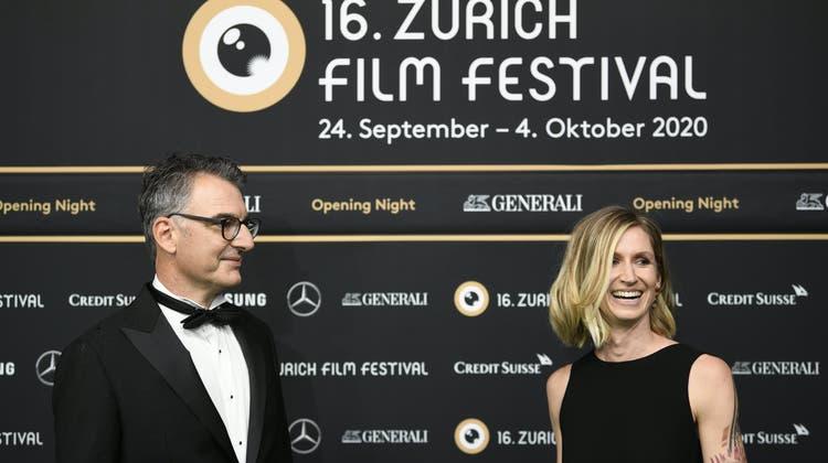 Die Direktoren des Zürich Film Festivals Christian Jungen and Elke Mayer. (Keystone)