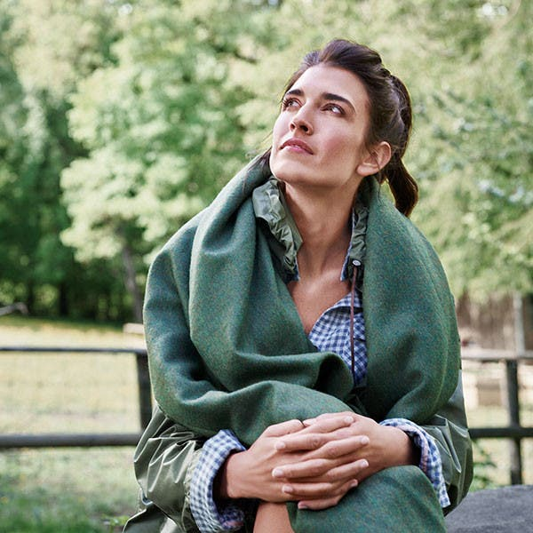 Schlossberg bietet Wolldecken in hoher Qualität an