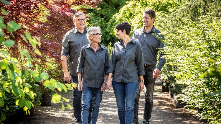Nachfolge aufgegleist: Die Gartenbaufirma Stieger AG aus Warth-Weiningen bleibt ein Familienbetrieb