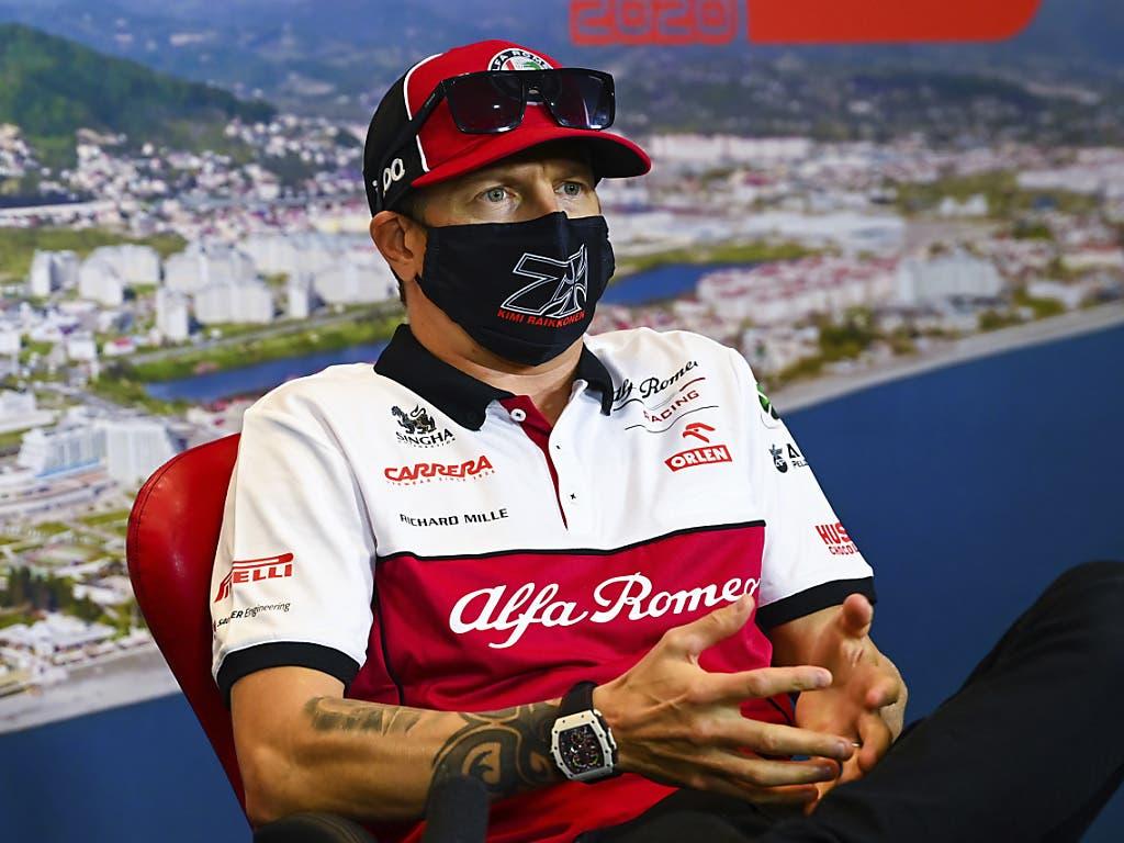 Kimi Räikkönen ging bei der Egalisierung des Teilnahmerekords von Rubens Barrichello punktemässig leer aus