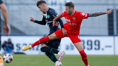 Der FC St.Gallen siegt in Vaduz dank eines späten Treffers mit 1:0