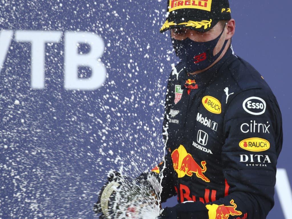 Max Verstappen sicherte sich seinen ersten Podimsplatz in Sotschi