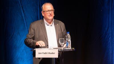 Jon Fadri Huder konnte das Stimmvolk von Ebnat-Kappel überzeugen: Er wird ab 2021 Gemeindepräsident. (Bild: Sascha Erni)