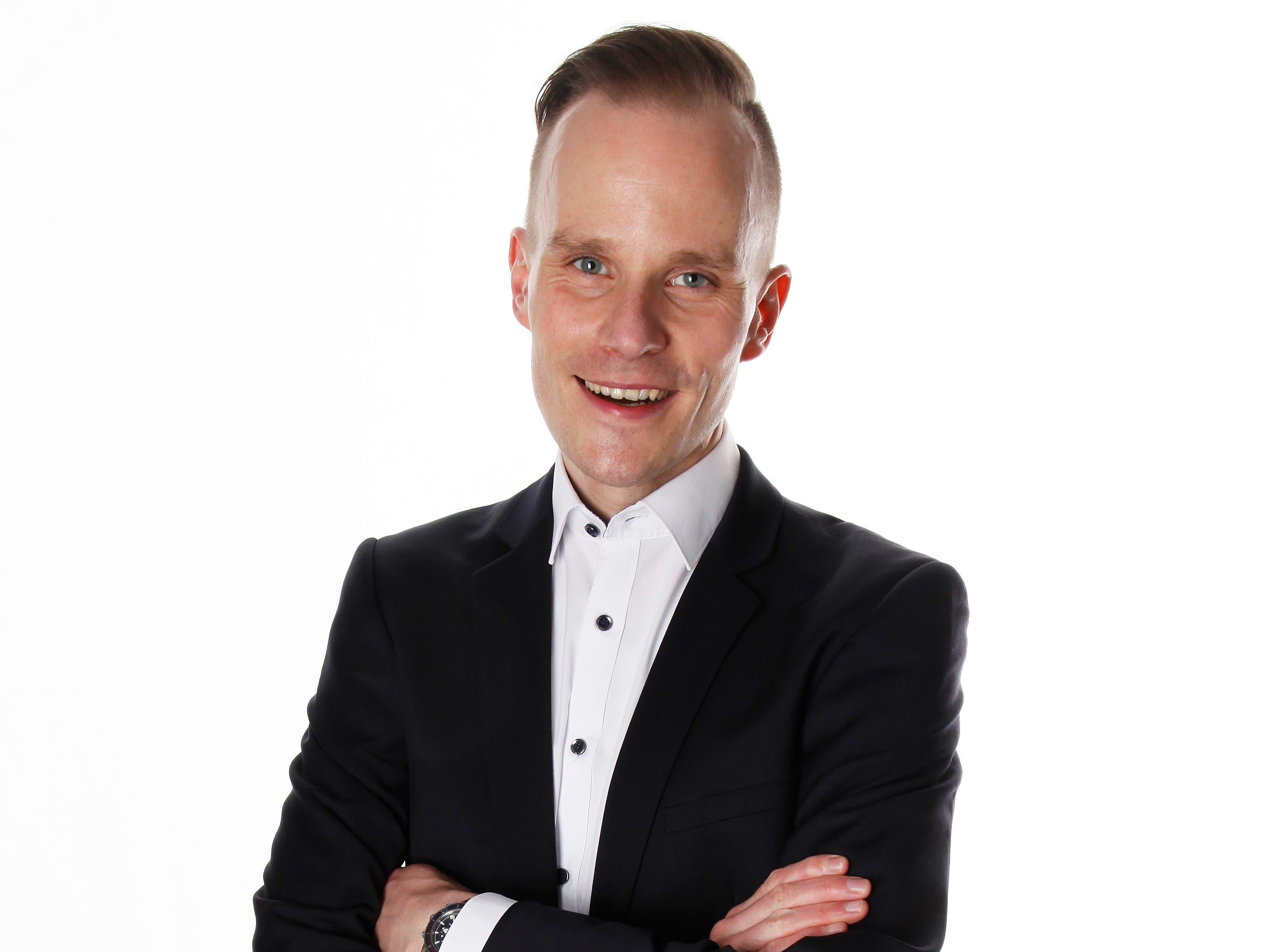 Daniel Bammert (CVP, Stadtammann)