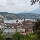 Blick auf die Stadt Luzern. Hier sagten 68,6 Prozent Ja zur Initiative des Mieterverbandes. (Bild: Patrick Hürlimann (22.September 2020))