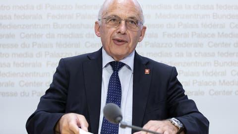 Ueli Maurer hat am Sonntag zwar die Abstimmung über die Erhöhung der Kinderabzüge verloren – aber immer auch davor gewarnt. (Archvibild) (Peter Klaunzer / KEYSTONE)