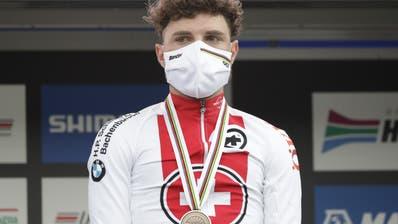 Holt die Bronzemedaille im WM-Strassenrennen: Marc Hirschi. (Andrew Medichini / AP)