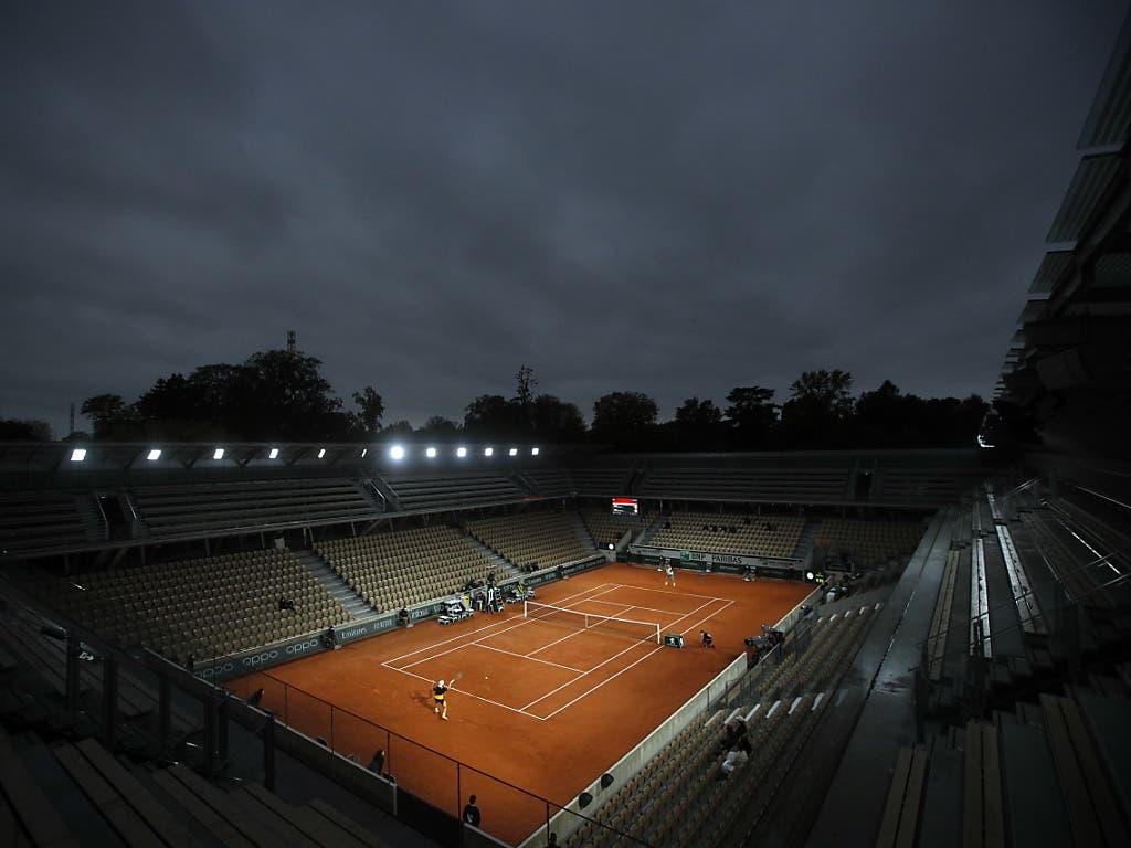 Diego Schwartzman, der in Rom Rafael Nadal bezwungen hat, gibt gegen Miomir Kecmanovic bei Flutlicht nur vier Games ab