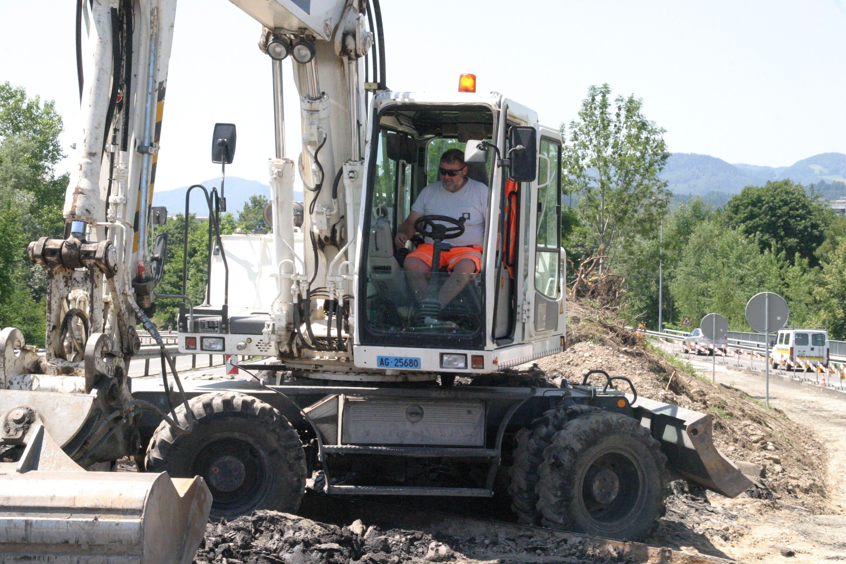 Bauarbeiter T5 Aarau