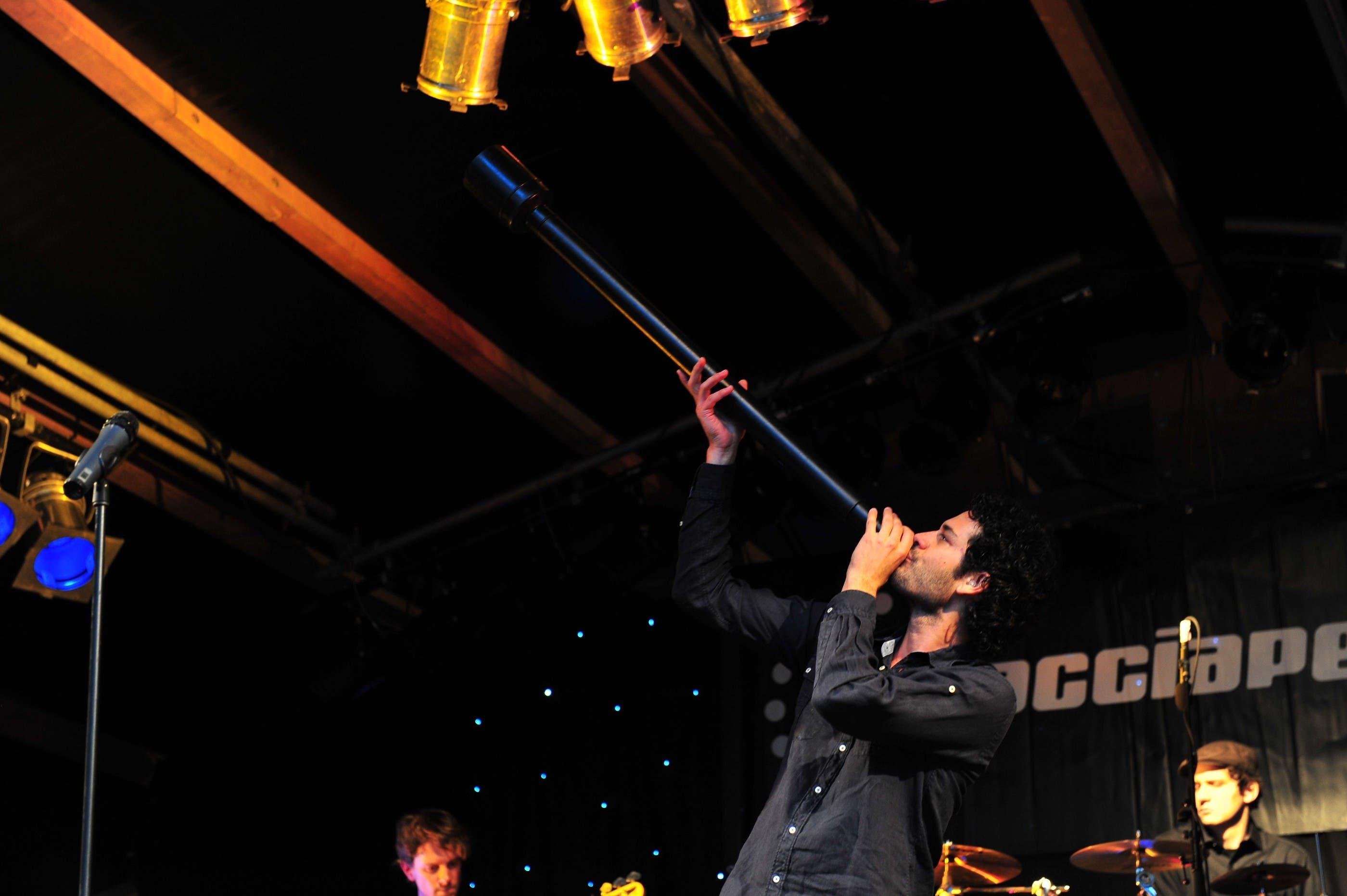 So feierten die Musiker und Fans am Rebstock