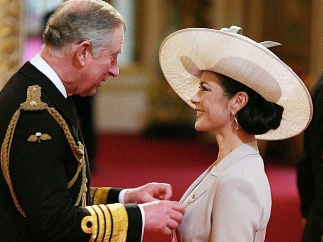 Ein grosser Tag im Leben von Zeta-Jones: Sie trifft Prinz Charles