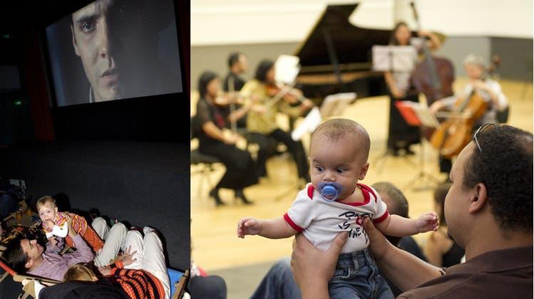 Schnulleralarm: Mit dem Baby ins Konzert und Kino