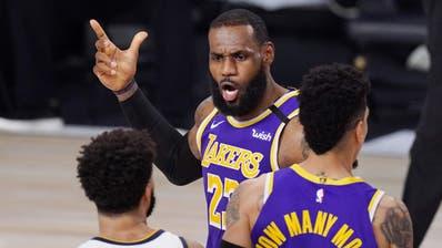 LeBron James strebt den vierten Meistertitel an, den ersten mit den Lakers. (Mark J. Terrill / AP)