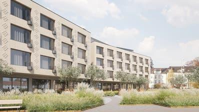 Visualisierung des geplanten Hotels auf der Hafenpromenade. (Bild: Susanne Fritz Architekten)