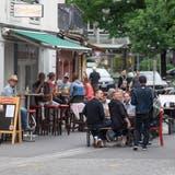 Die «Wonderbar» in der Pfistergasse nutzt die öffentliche Fläche. (Bild: Boris Bürgisser (Luzern, 29. Mai 2020))