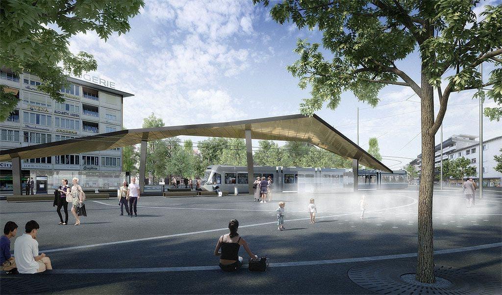 Alles wir neu in Schlierens Mitte: So sieht der geplante Stadtplatz aus