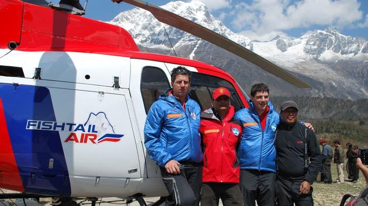 Helden der Lüfte: Zwei Walliser wurden für Bergrettung ausgezeichnet