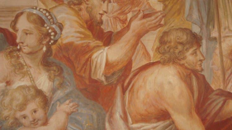 Abt verbot nackte Engel in der Klosterkuppel