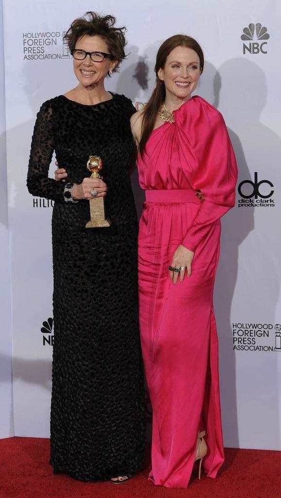 Beste Nebendarstellerin: Annette Bening mit Co-Star Julianne Moore.