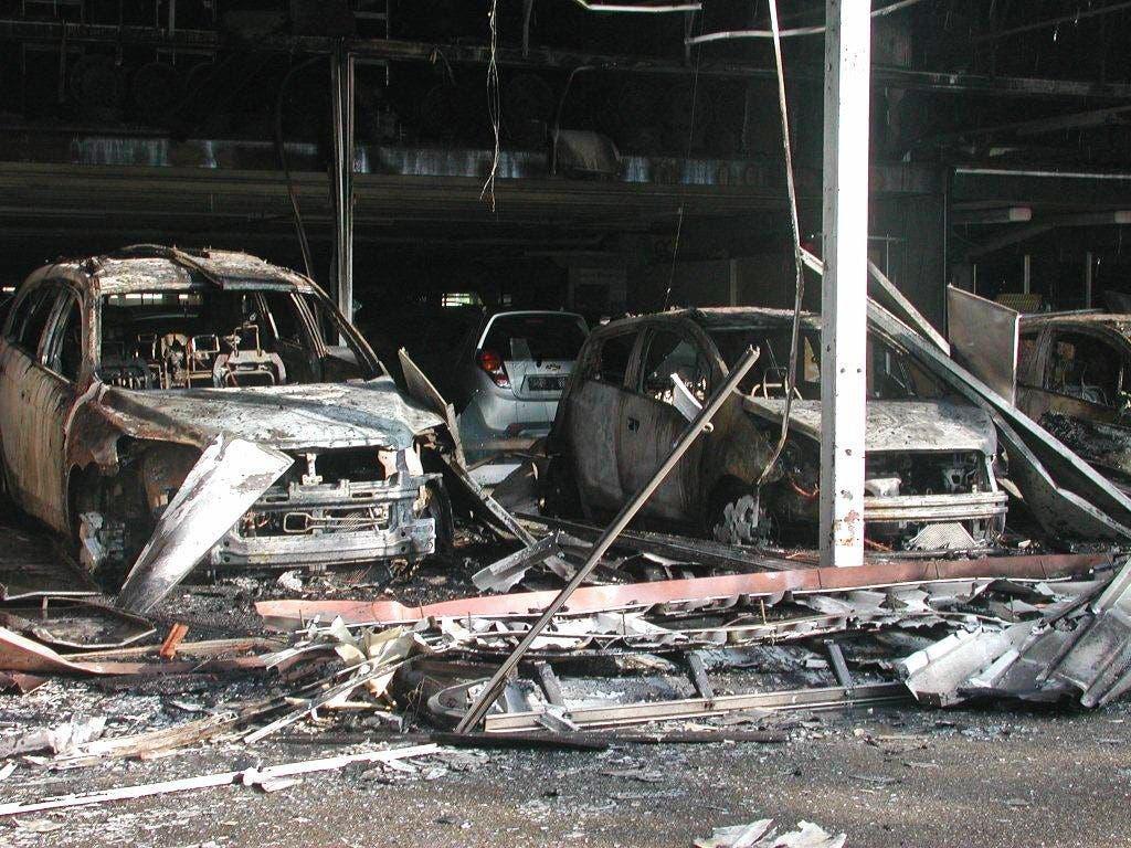 Brand Geschäftshaus Biel