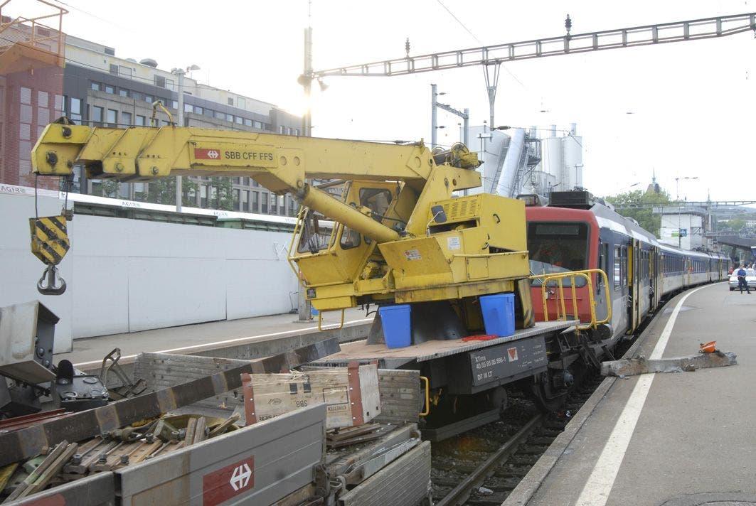 Zugunfall Zürich
