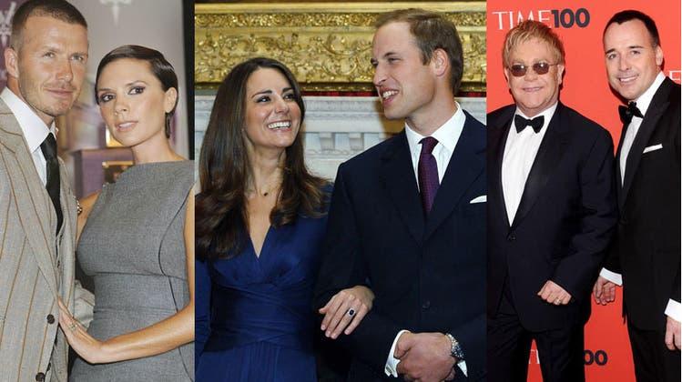 Wer darf zur Hochzeit von Kate und William?