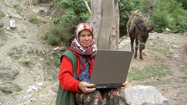 Diese Türkin sieht zum ersten Mal einen Film